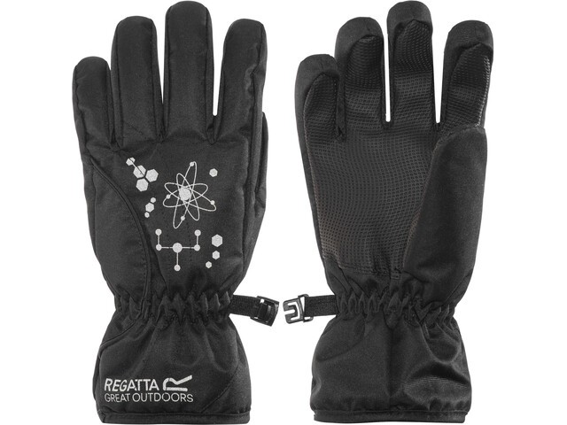 Regatta Arlie II Waterproof Gloves Kinder black